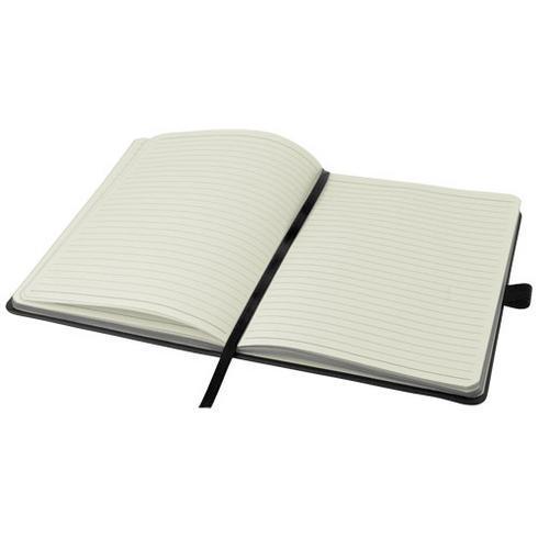 Colour-edge A5 hard cover notebook