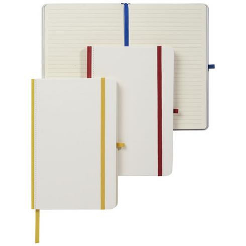 PU Cover digital print notebook and coloured spine