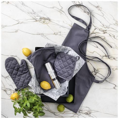 Dila 4-piece kitchen set in a pouch
