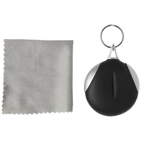 Clear-o cleaning cloth keychain