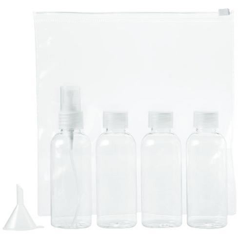 Tokyo airline approved travel bottle set