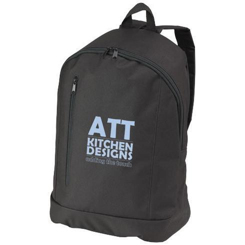 Boulder vertical zipper backpack