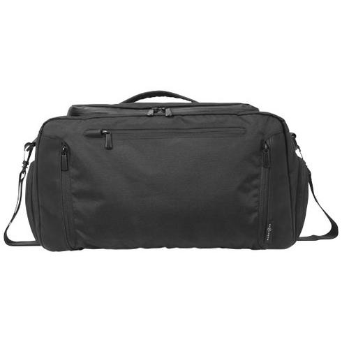 Deluxe duffel bag with tablet pocket