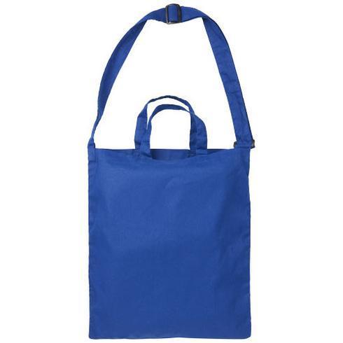 Verona 100 g/m² dual carry cotton tote bag