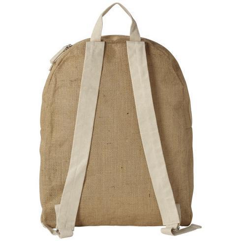 Organ jute backpack