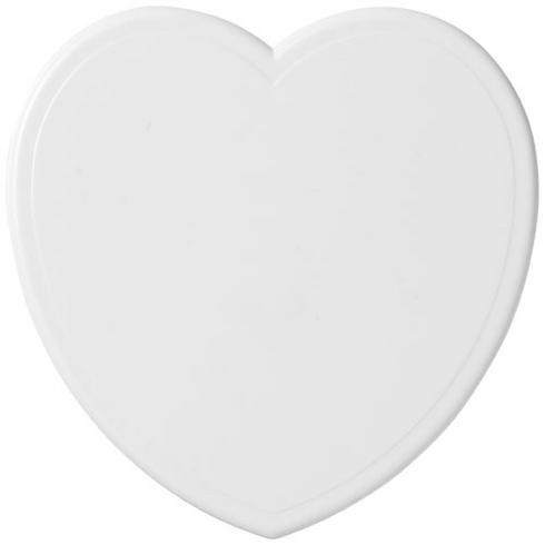 Cait heart-shaped coaster