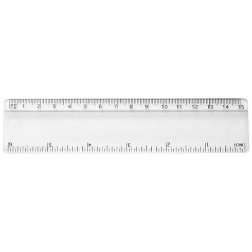 Renzo 15 cm plastic ruler