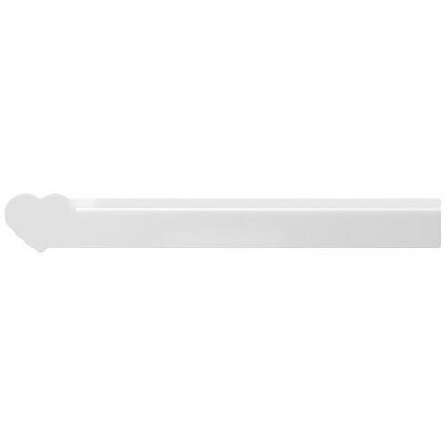 Loki 30 cm heart-shaped plastic ruler