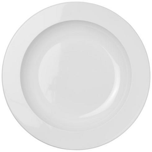 Pax round plastic plate