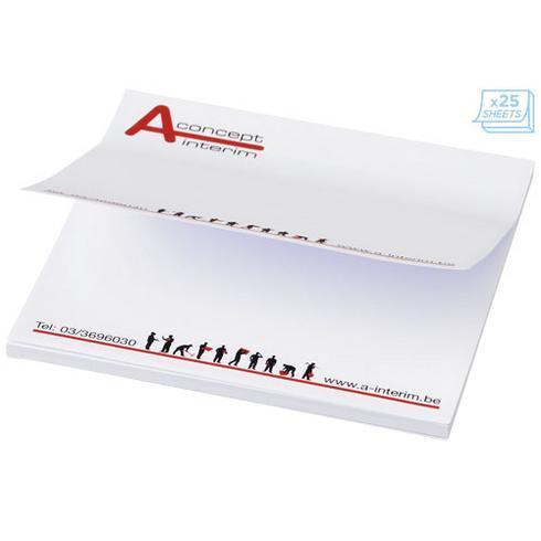 Sticky-Mate® square sticky notes 75x75mm