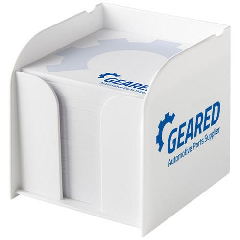 Vessel large memo block and holder