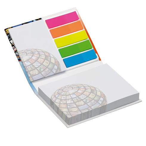 Combi notes page marker set hard cover