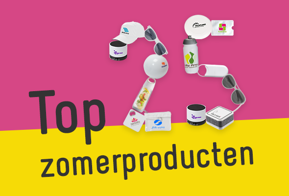 Top 25 zomerproducten