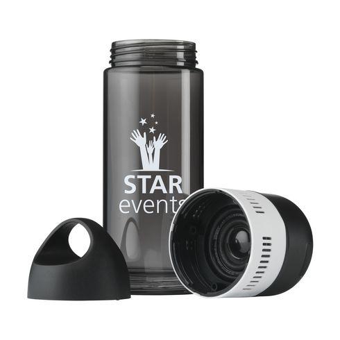 BottleBeatz Tritan 2-in-1 drinkfles 500 ml met speaker