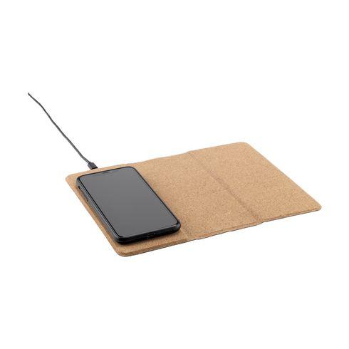 Cork Wireless Charging Mousepad muismat