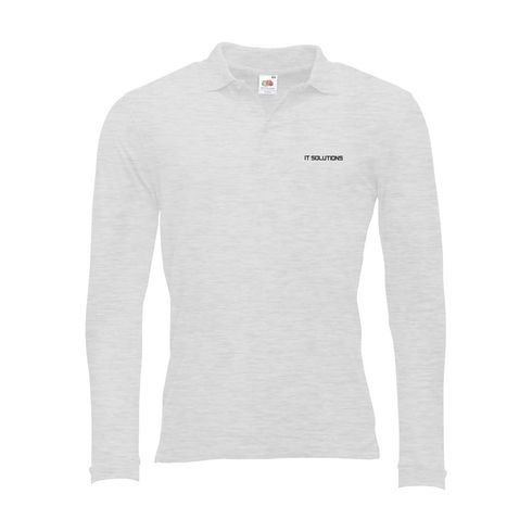 Fruit Stafford LongSleeve polo