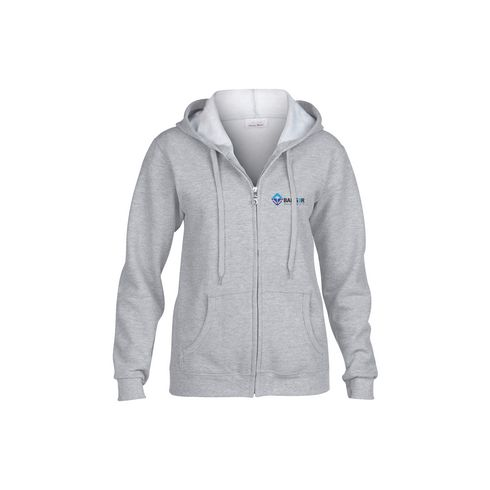 Gildan HoodedZipSweater dames