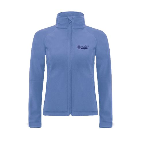 B&C Hooded Softshell damesjack