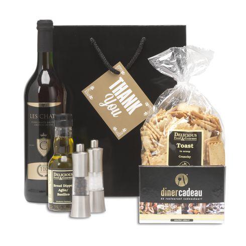 Dine & Wine XL kerstpakket