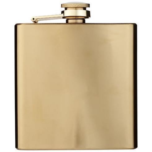 Elixer 175 ml goudkleurige heupfles