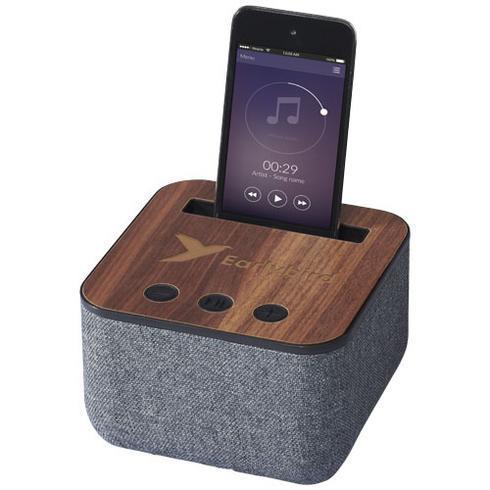 Shae Bluetooth® speaker van stof en hout