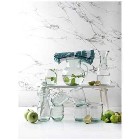 Fresco karaf van gerecycled glas