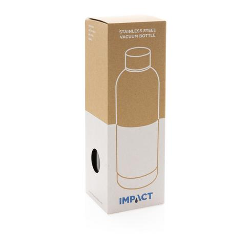 Impact roestvrijstalen dubbelwandige vacuümfles