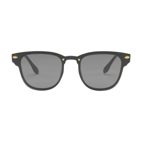 Logo-solbriller, Estilo  blank sort