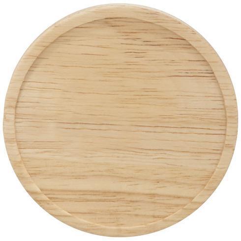 Heart keramikk krus med skål i tre