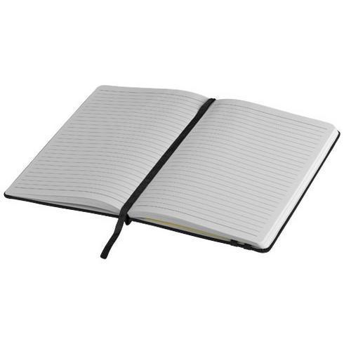 Denim notatbok i stivt omslag A5