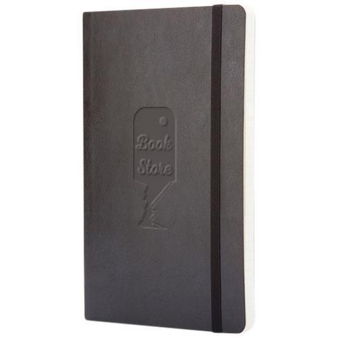 Classic L notatbok med mykt omslag – stiplet