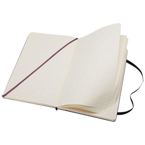 Classic L notatbok med stivt omslag – ruter