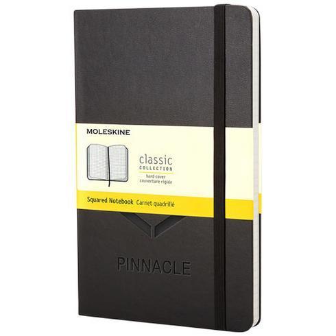 Classic PK notatbok med stivt omslag – rutet