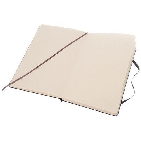 Classic L notatbok med stivt omslag – stiplet