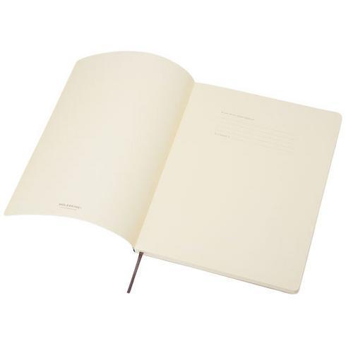 Classic XL notatbok med mykt omslag – rutet