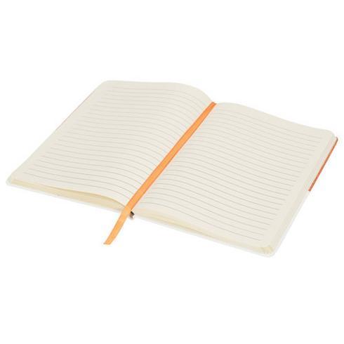 Two-tone A5 notatblokk i lerret