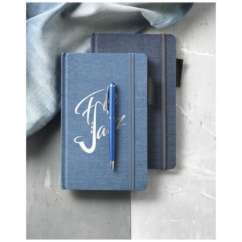 Jeans Notisbok i A5 format i jeansstoff