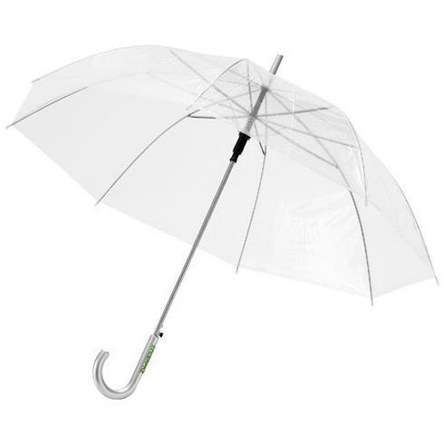 "Kate 23"" transparent automatisk paraply"