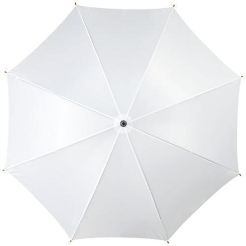 """Kyle 23"""" automatisk paraply med treskaft og -håndtak"""