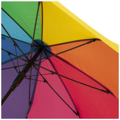 """Sarah 23"""" vindtett paraply med auto-åpning"""