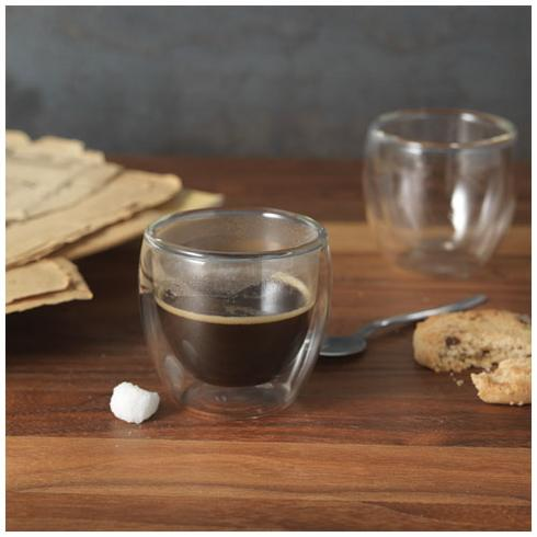 Boda espressokoppsett med 2 deler