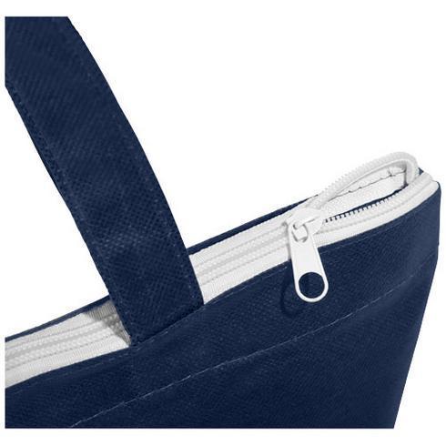 Privy handlenett med glidelås og korte håndtak i ikke-vevd tekstil