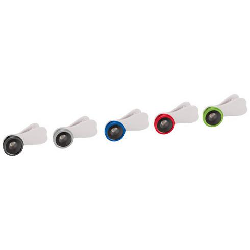 Fish-eye linse med klips for smarttelefon