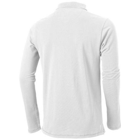 Oakville langermet poloskjorte for menn