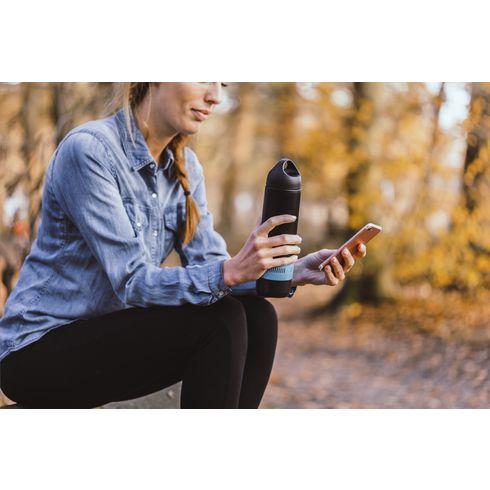 BottleBeatz rostfritt stål 2-i-1 termoshögtalare