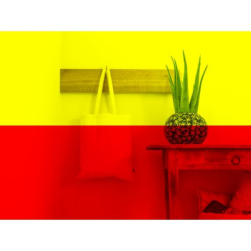 Shoppingpåse i ekologiskt bomullstyg · 320g/m²