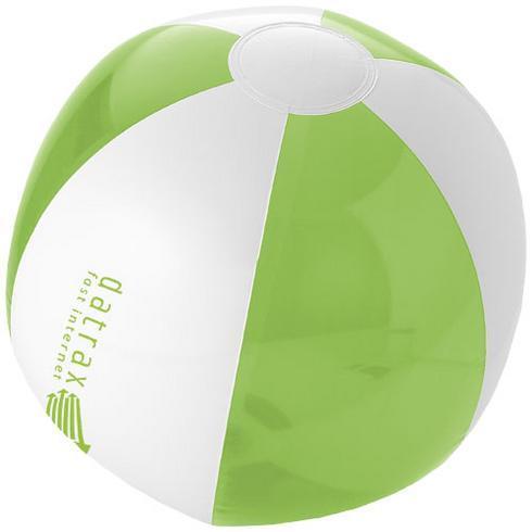 Bondi solid och transparent badboll