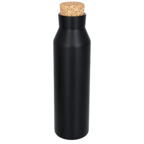 Fornnordiska vakuumisolerad flaska i koppar med kork