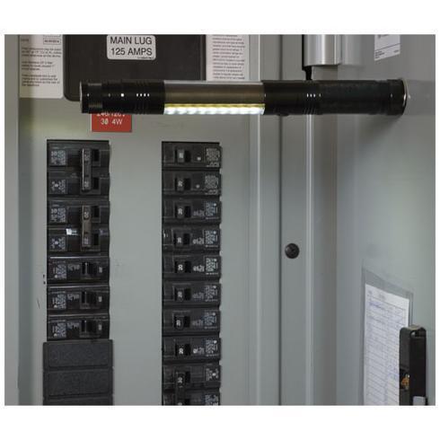 Scope COB-ficklampa med magnetisk upplockare