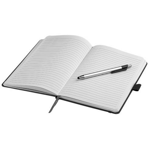 Crown anteckningsbok A5 och kulspetspenna med touchfunktion